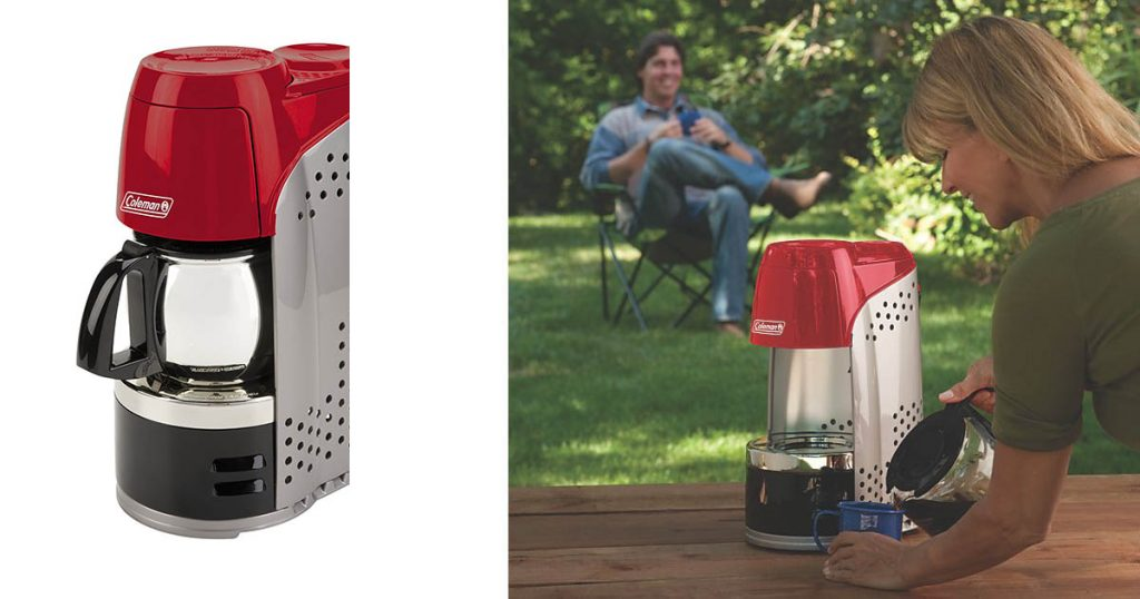 Portable Propane Coffee Maker for the Campsite or RV